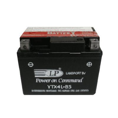 TOPLITE YUASA - Acumulator fara intretinere YTX4L-BS / YT4L-BS / 50410