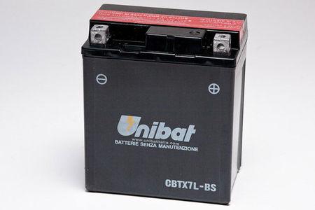 UNIBAT - Acumulator fara intretinere CBTX7L-BS (YTX7L-BS)