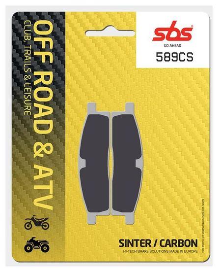 SBS - Placute frana OFFROAD - CARBON SINTER 589CS