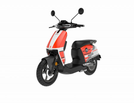 Super Soco CUx DUCATI, scuter electric (cat. AM sau B)