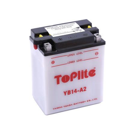 TOPLITE YUASA - Acumulator cu intretinere YB14-A2