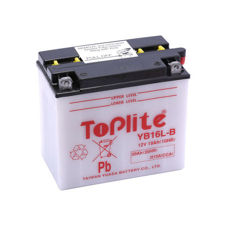 TOPLITE YUASA - Acumulator cu intretinere YB16L-B