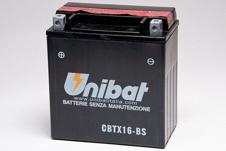 UNIBAT - Acumulator fara intretinere CBTX16-BS-1 (YTX16-BS-1)