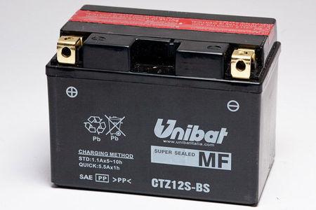 UNIBAT - Acumulator fara intretinere CTZ12S-BS (YTZ12-S)