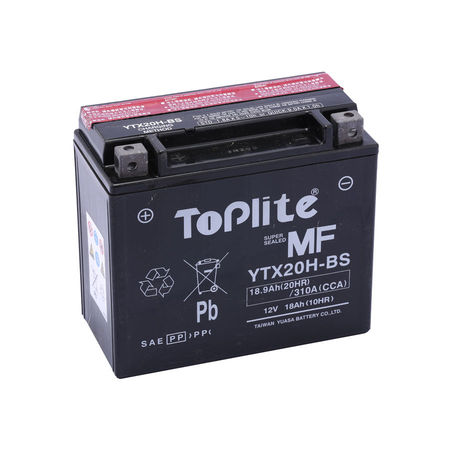 TOPLITE YUASA - Acumulator fara intretinere YTX20H-BS
