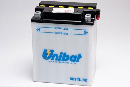 UNIBAT - Acumulator cu intretinere CB14L-B2-SM (YB14L-B2)