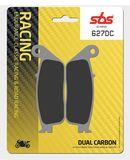 SBS - Placute frana RACING - DUAL CARBON 627DC