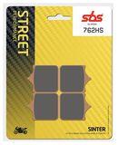 SBS - Placute frana STREET - SINTER 762HS