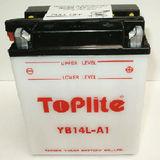 TOPLITE YUASA - Acumulator cu intretinere YB14L-A1