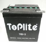 TOPLITE YUASA - Acumulator cu intretinere YHD-12