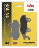 SBS - Placute frana RACING CLASSIC - DUAL CARBON 638DC