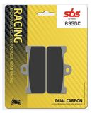 SBS - Placute frana RACING - DUAL CARBON 695DC