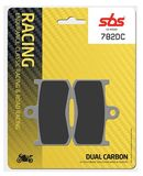 SBS - Placute frana RACING - DUAL CARBON 782DC