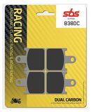 SBS - Placute frana RACING - DUAL CARBON 838DC