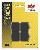 SBS - Placute frana RACING - DUAL SINTER 762DS