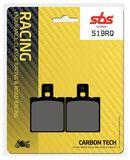 SBS - Placute frana RACING - CARBONTECH 519RQ