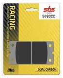 SBS - Placute frana RACING CLASSIC - DUAL CARBON 506DCC