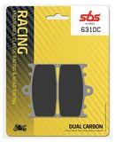 SBS - Placute frana RACING - DUAL CARBON 631DC