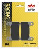 SBS - Placute frana RACING - DUAL CARBON 806DC