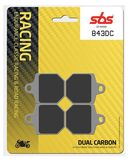 SBS - Placute frana RACING - DUAL CARBON 843DC