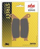 SBS - Placute frana STREET - SINTER 654HS