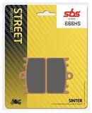 SBS - Placute frana STREET - SINTER 666HS