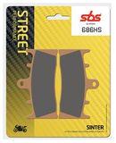 SBS - Placute frana STREET - SINTER 686HS