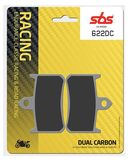 SBS - Placute frana RACING - DUAL CARBON 622DC