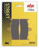 SBS - Placute frana STREET - SINTER 778HS