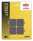 SBS - Placute frana STREET - SINTER 870HS