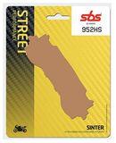 SBS - Placute frana STREET - SINTER 952HS