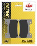 SBS - Placute frana RACING CLASSIC - DUAL CARBON 645DCC