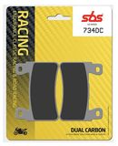 SBS - Placute frana RACING - DUAL CARBON 734DC