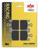 SBS - Placute frana RACING - DUAL CARBON 788DC