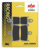 SBS - Placute frana RACING - DUAL CARBON 839DC