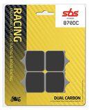 SBS - Placute frana RACING - DUAL CARBON 870DC