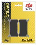 SBS - Placute frana RACING - DUAL CARBON 947DC