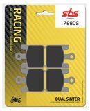 SBS - Placute frana RACING - DUAL SINTER 788DS