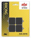SBS - Placute frana RACING - DUAL SINTER 870DS
