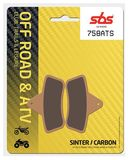 SBS - Placute frana OFFROAD / ATV - SINTER CARBON 758ATS