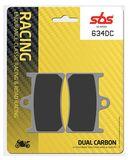 SBS - Placute frana RACING - DUAL CARBON 634DC