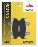 SBS - Placute frana RACING CLASSIC - DUAL CARBON 593DCC