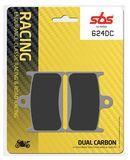 SBS - Placute frana RACING - DUAL CARBON 624DC