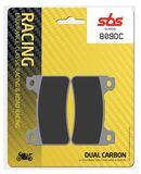 SBS - Placute frana RACING - DUAL CARBON 809DC