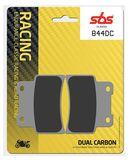 SBS - Placute frana RACING - DUAL CARBON 844DC