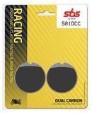 SBS - Placute frana RACING CLASSIC - DUAL CARBON 501DCC