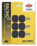 SBS - Placute frana RACING - DUAL CARBON 655DC