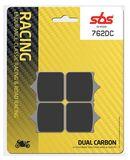 SBS - Placute frana RACING - DUAL CARBON 762DC