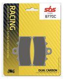 SBS - Placute frana RACING - DUAL CARBON 877DC