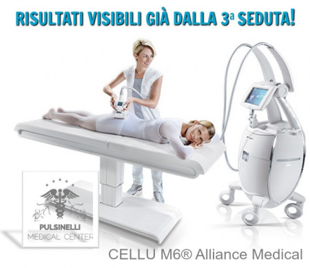 CELLU M6ALLIANCE® MEDICAL RISULTATI VISIBILI GIÀ DALLA 3° SEDUTA!